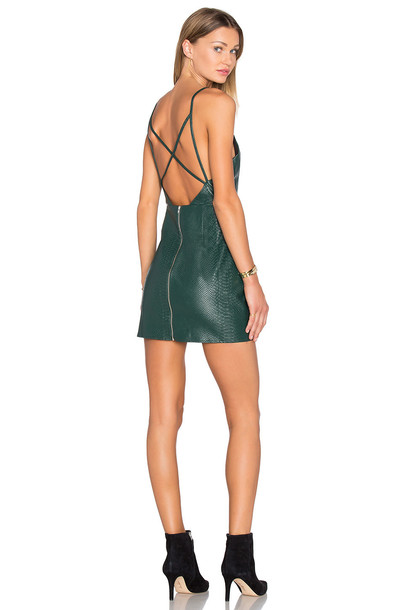 0d26f125c46 NBD x Naven Twins Don t Cross Me Dress in green - Wheretoget