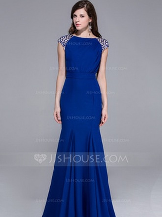 beautiful dress blue long prom gown mermaid sparkling night brand perfect mermaid prom dresses