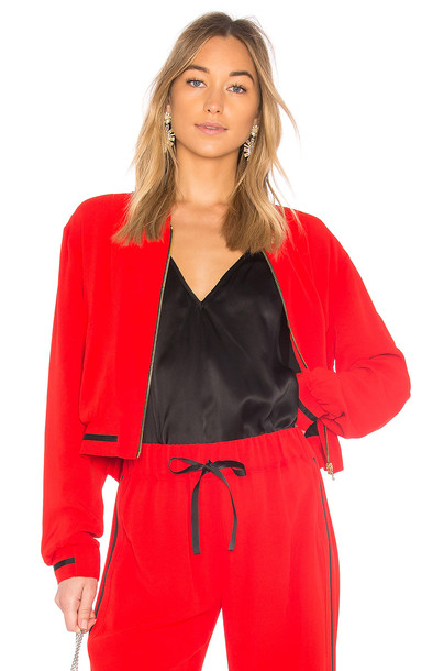 Alexis jacket red