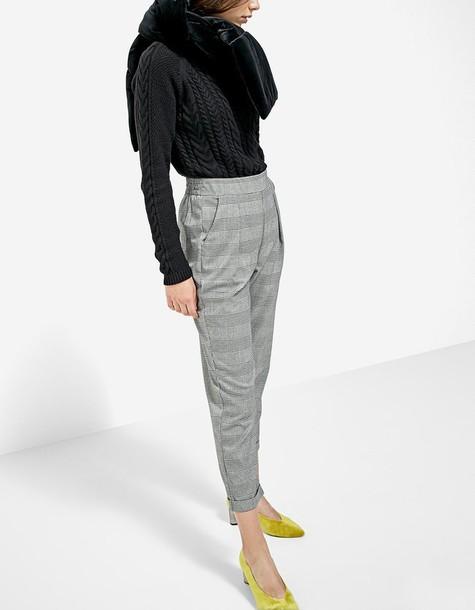 sweater black knit