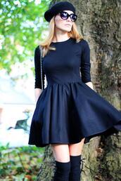 dress,clothes,sylwia majdan,blogger,brands,black dress,designer