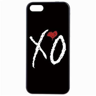 phone cover the weeknd xo black iphone 5 case