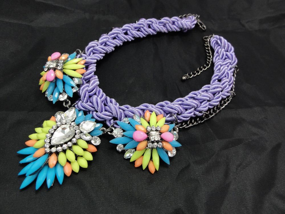 Wholesale Chunky Fashion Necklaces JC Fashion Braided rope