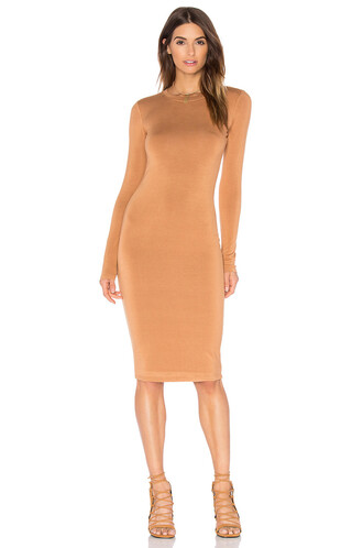 dress mini dress mini long tan