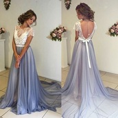 dress,prom dress,wedding dress,party dress,evening dress,maxi dress,purple,white,dance,gown,abschlusskleid,ball gown dress,prom,blue,baby blue,maiden,girl,women,long dress,long,backless prom dress,periwinkle,baby purple