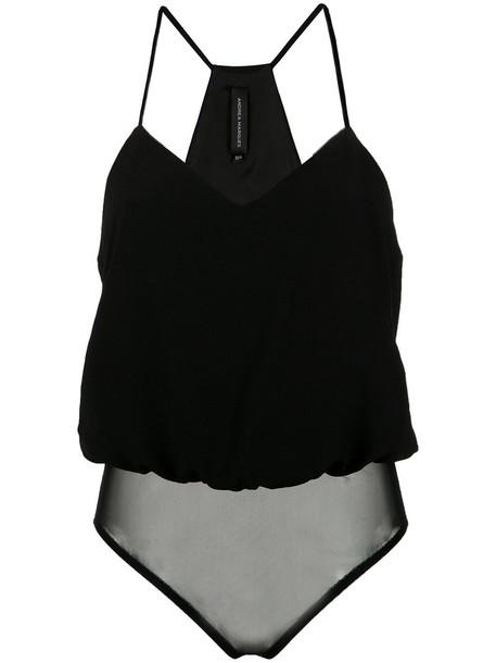 Andrea Marques bodysuit straps women underwear