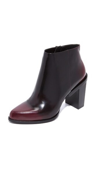 booties oxblood shoes