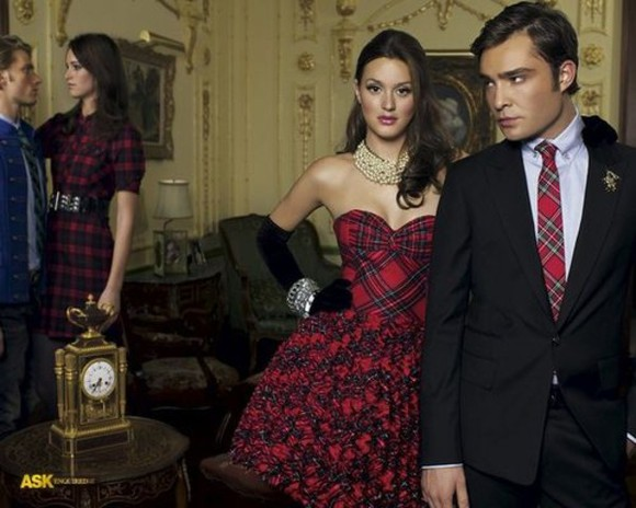 gossip girl leighton meester blair waldorf dress