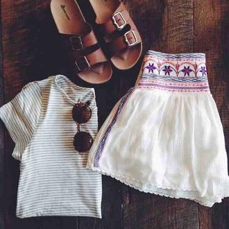 skirt mexico boho