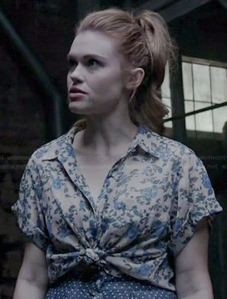 blouse floral lydia martin lydiamartin flowers print button up