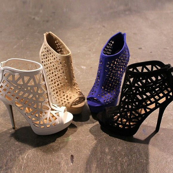 high heels black heels low boots beige blue heels beige heels white heels nice trendy