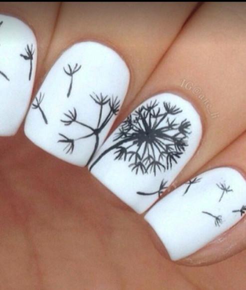 nail polish nail art nail art white nail polish black nail black nails black nail polish