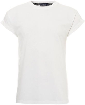 t-shirt tee tshirt roll up sleeve muscle tee white tshirt roll-up roll up sleeves