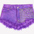 902 Purple Studded Babe Shorts - Limited | RUNWAYDREAMZ