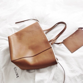 bag celine bag leather backpack leather bag