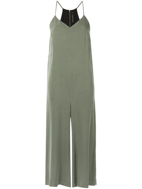 jumpsuit women midi silk