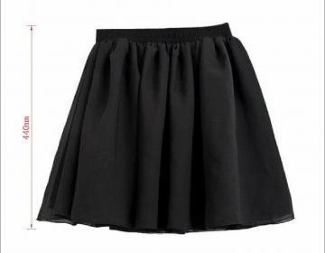 Vogue lady retro high waist pleated..