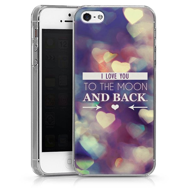 jewels i love you to the moon and back iphone 5 case