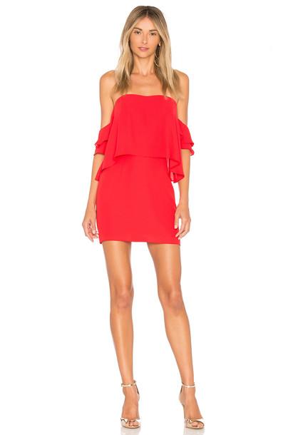 Amanda Uprichard dress red