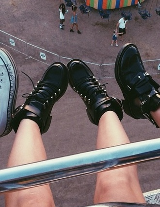 shoes black studs boots kylie jenner carnival edgy lace dress high heels high top sneakers ankle boots