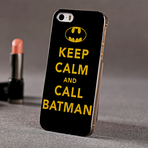 ABS Hard Case  BatMan Sign Back Cover  For iPhone 5 5S   New Arrival 1 Piece Free Shipping-in Phone Bags & Cases from Electronics on Aliexpress.com