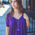 Short Sleeve Piko in Dark Purple | Entourage Clothing & Gifts
