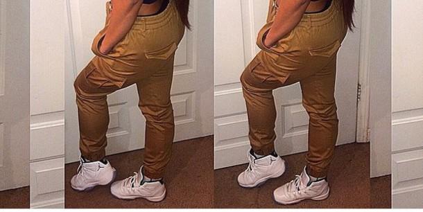 pants tan
