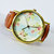 Grandma's Wallpaper Floral Watch, Vintage Style Leather Watch, Women Watches, Boyfriend Watch, Ladies Watch,