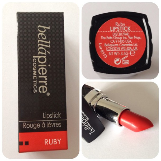 make-up lipstick ruby red