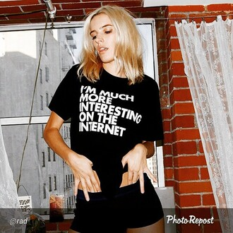 t-shirt words brand radshop internet rad wifi