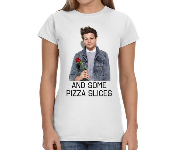 one direction 1direction louis tomlinson 1d band t-shirt concert tee