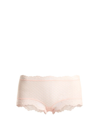 short lace light pink light pink underwear