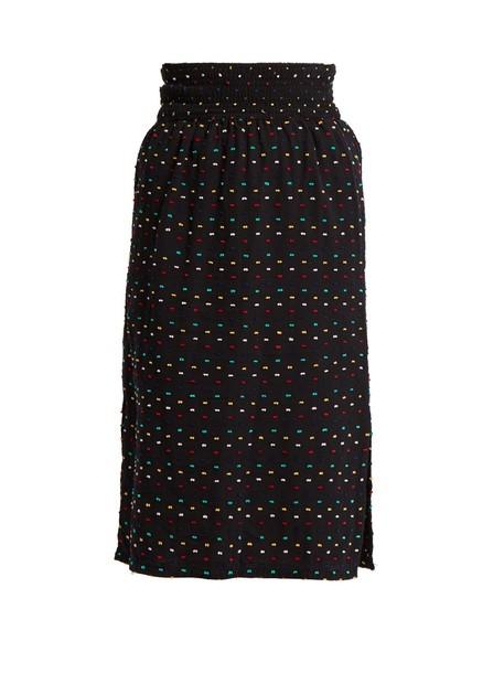 Ace & Jig skirt cotton black