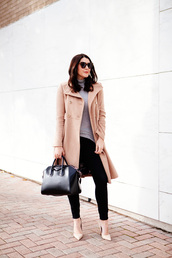 kendi everyday,blogger,camel coat,givenchy bag