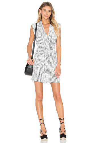 dress shirt dress sleeveless white