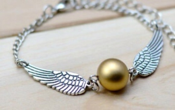 jewels braclets harry potter golden snitch etsy