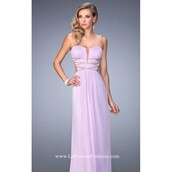 dress,lavender prom dresses,strapless,gown