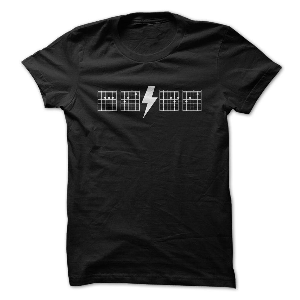 AC/DC Chords T Shirt & Hoodie
