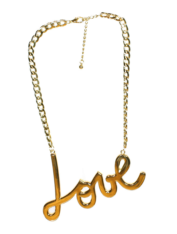 jewels love necklace gold necklace