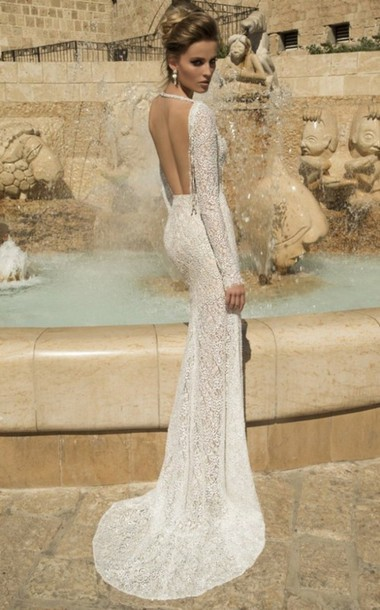 dress white dress open back prom dress