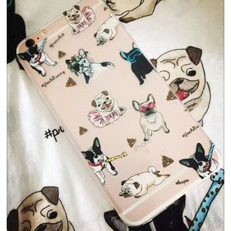 phone cover yeah bunny iphone cute frenchie dog pug cover pugs lover dog print