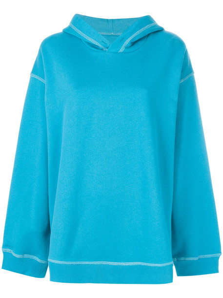 sweater women cotton blue