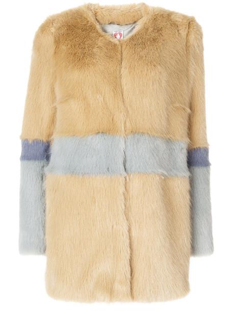 Shrimps coat faux fur coat fur coat fur faux fur women brown