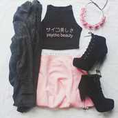 top,beautiful,cardigan,hair accessory,skirt,tank top,dress,kawaii,dreamy dress,romantic,crop tops,fashion,cute dress
