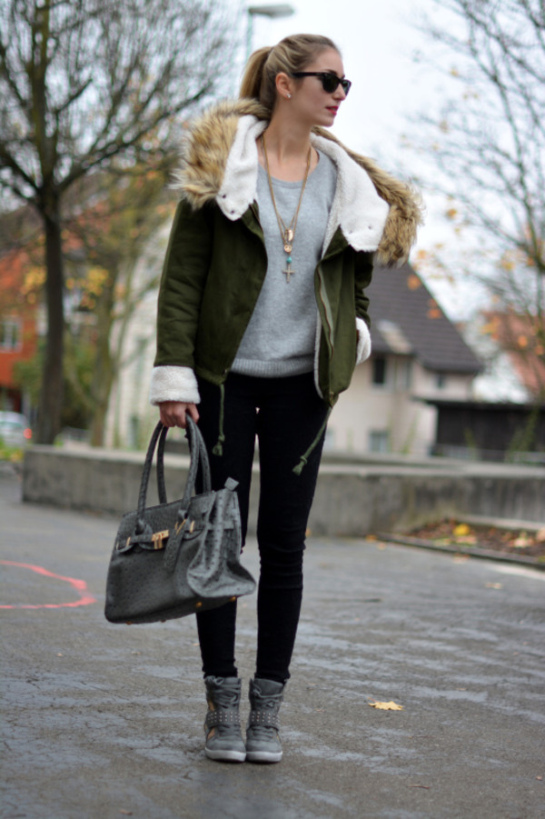 coat jacket green fashion pants shoes amazing