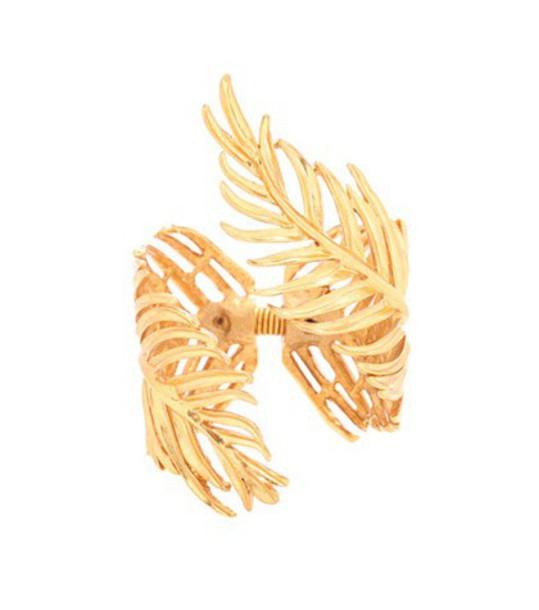oscar de la renta gold jewels