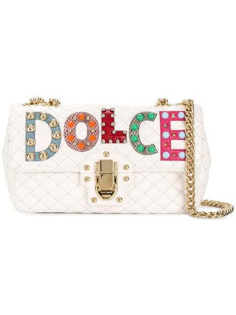 Dolce & Gabbana Lucia Quilted Shoulder Bag - Farfetch