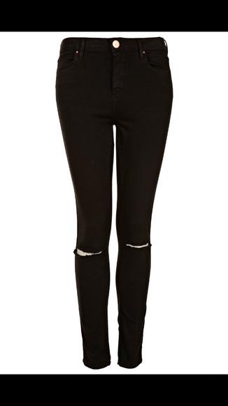 jeans holes