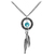 Handcrafted Dreamcatcher Necklace MADE WITH SWAROVSKI ELEMENTS | Body Candy Body Jewelry