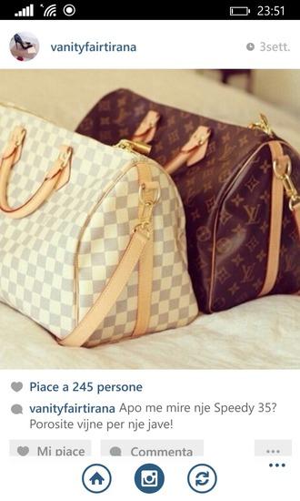 bag brown bag white bag